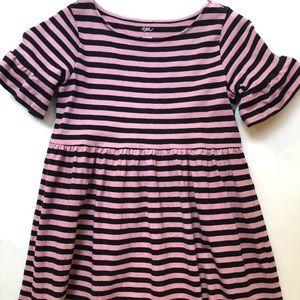 NWT Tea Collection Ruffle Sleeve Dress 12Y